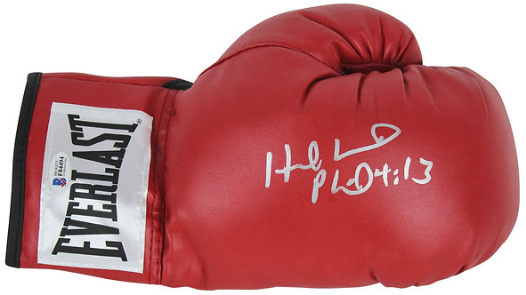 Holyfield, Evander Autographed Boxing Glove