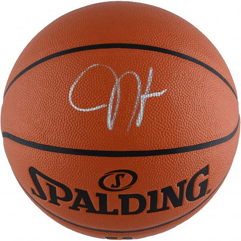 Harden, James Autographed Spalding Basketball