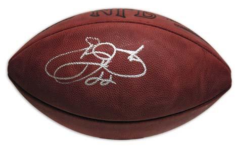 Smith, Emmitt Autographed NFL Wilson Football