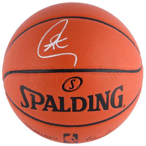 Curry, Steph Autographed Spalding Basketball