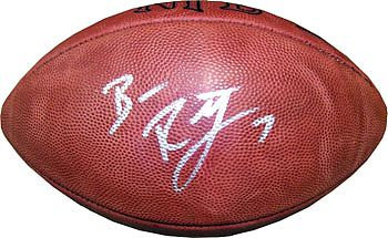 Roethlisberger, Ben Autographed NFL Wilson Football