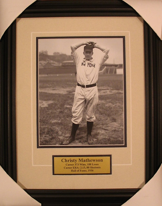 Mathewson, Christy 8x10 Photo Framed