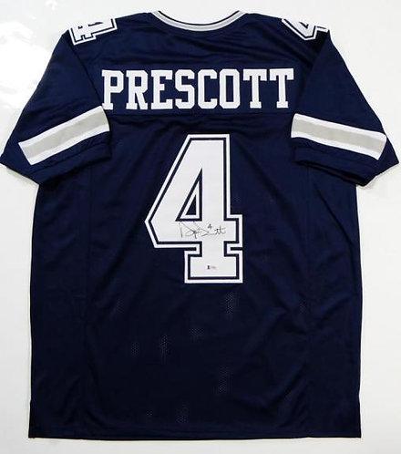 Prescott, Dak Autographed Cowboys Jersey