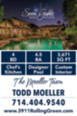 Moeller Team Custom Sale Sign