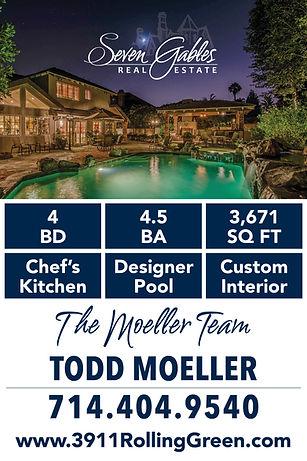 Moeller Team Custom Sale Sign