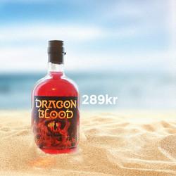 Dragon Blood on the beach