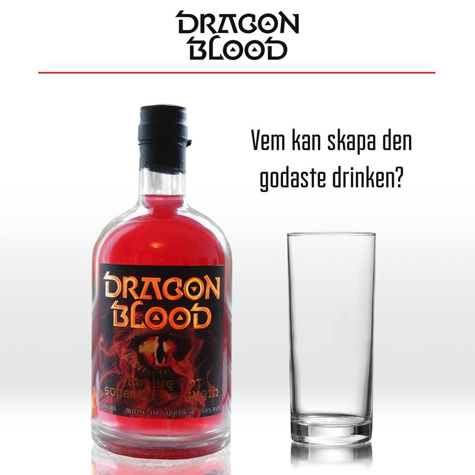 Make a delicious drink Dragon Blood