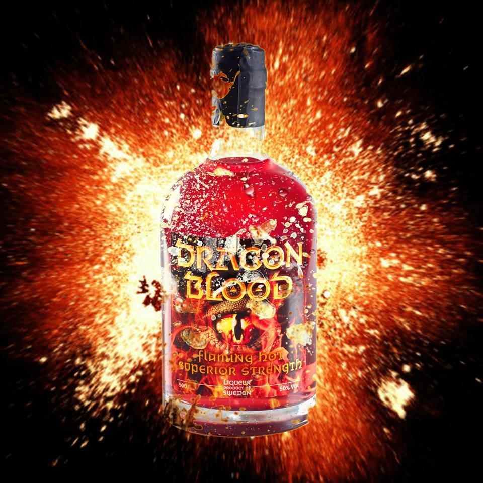 Dragon Blood explosion