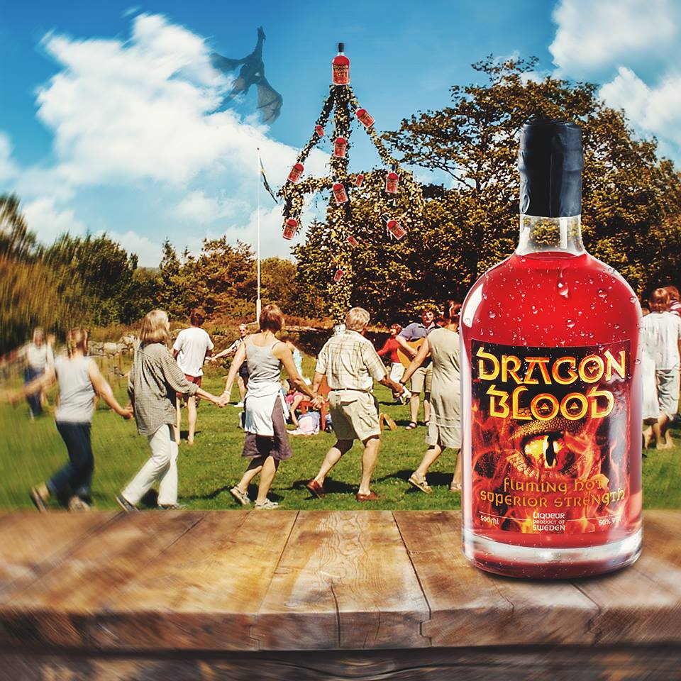 Dragon Blood at midsummer