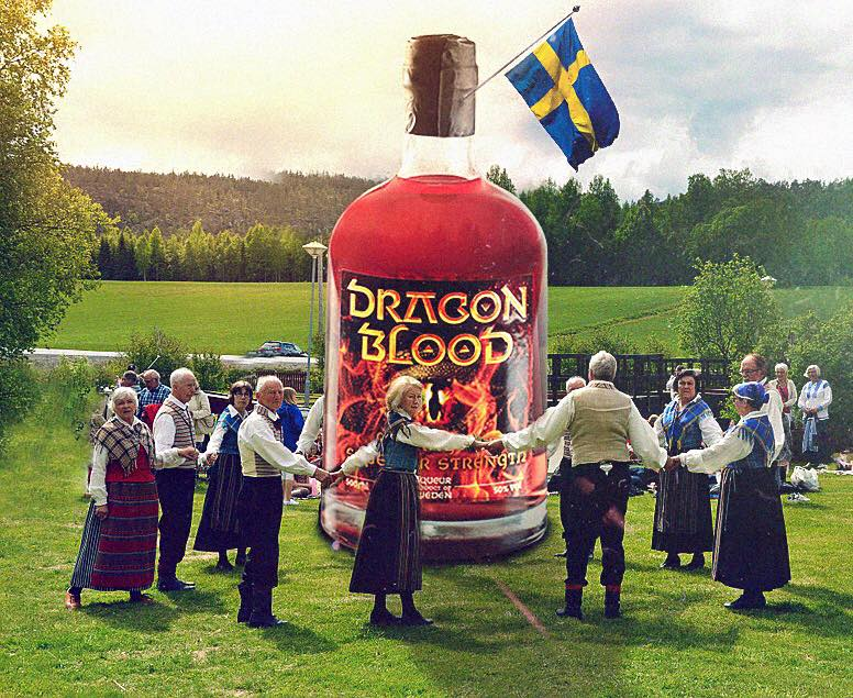 Dragon Blood at midsummer