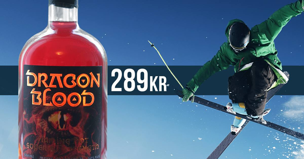 Dragon Blood after ski