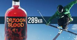 Dragon Blood after ski