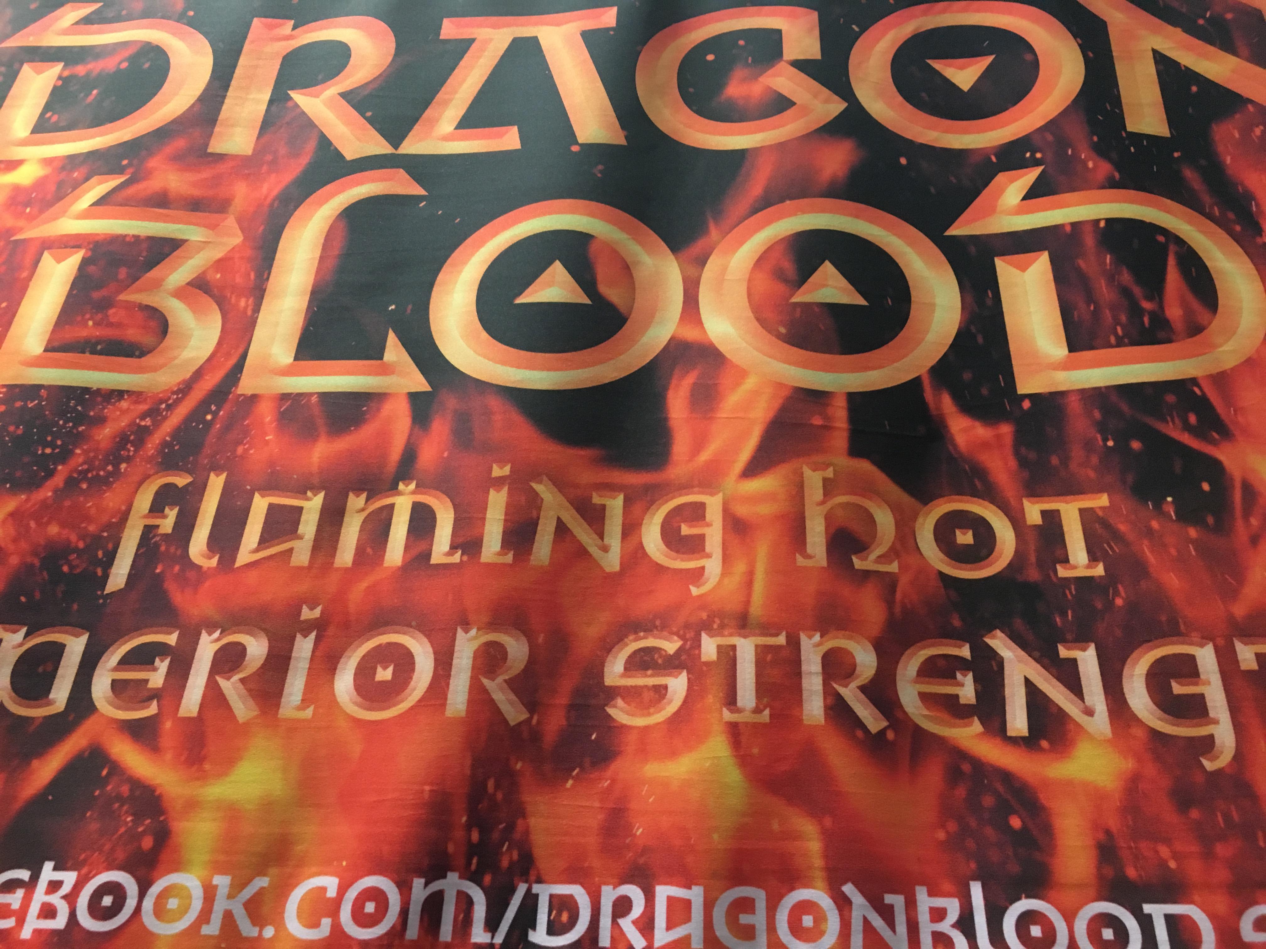 Dragon Blood exhibition success