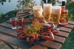 Dragon Blood crayfish party