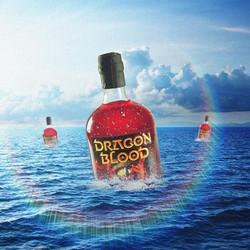 Dragon Blood on water