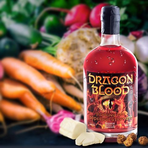 Dragon Blood vegetables