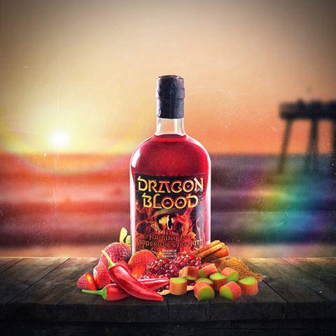 Dragon Blood rainbow