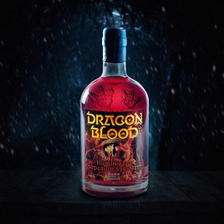 Dragon trapped in Dragon Blood