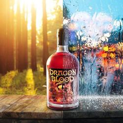Dragon Blood sunny day VS rainy day