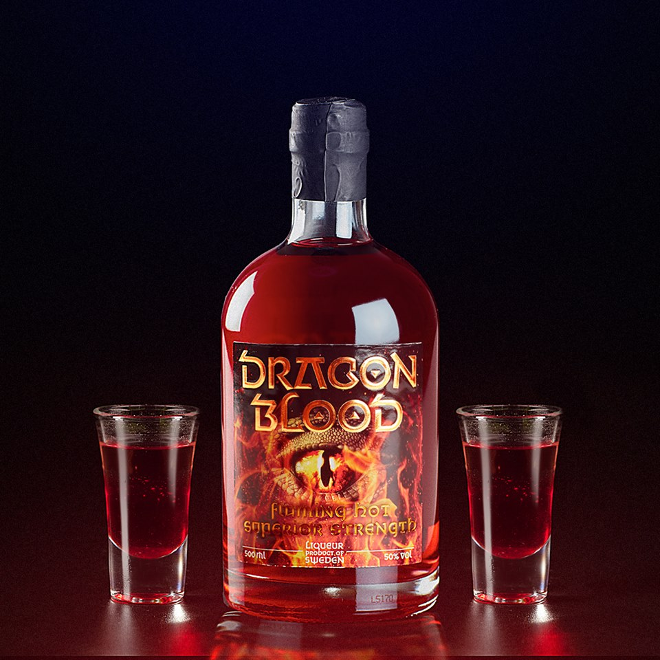 Haev a couple of Dragon Blood shots
