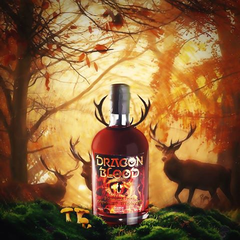 Dragon Blood in the wild
