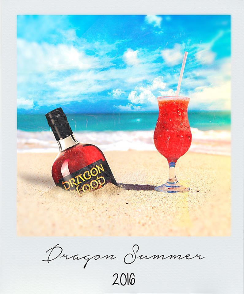 Dragon Blood at the beach