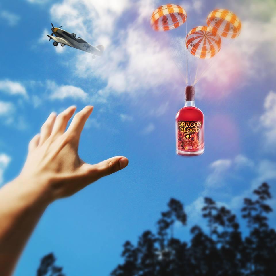Dragon Blood parachute