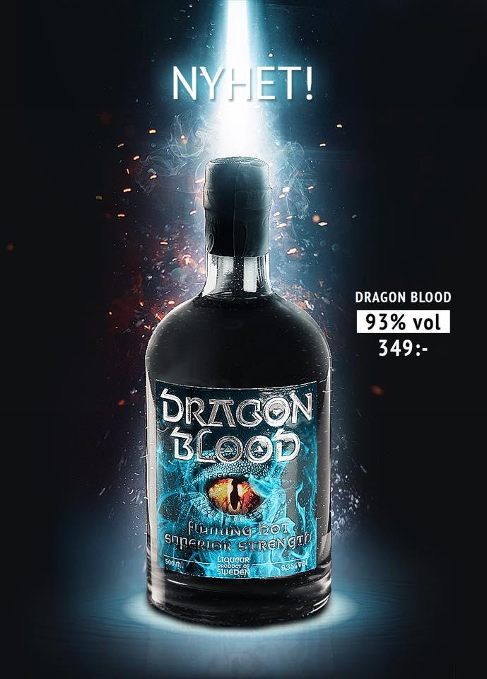 Dragon Blood 93% vol.