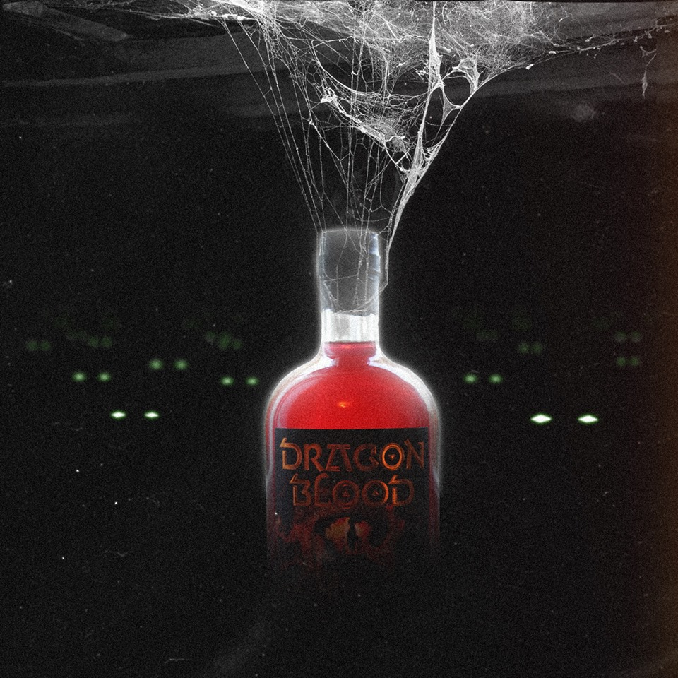 Dragon Blood spiderweb