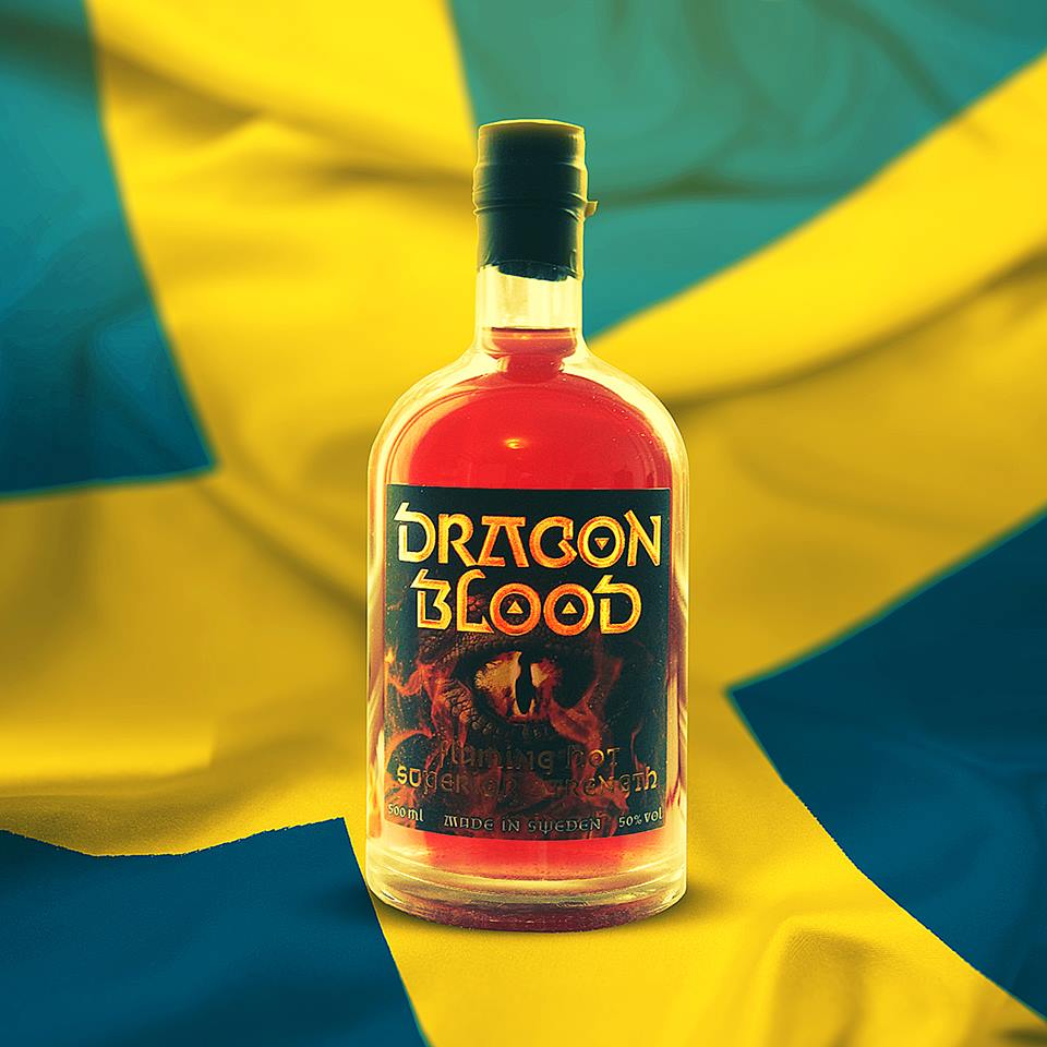 Dragon Blood Swedish liqueur