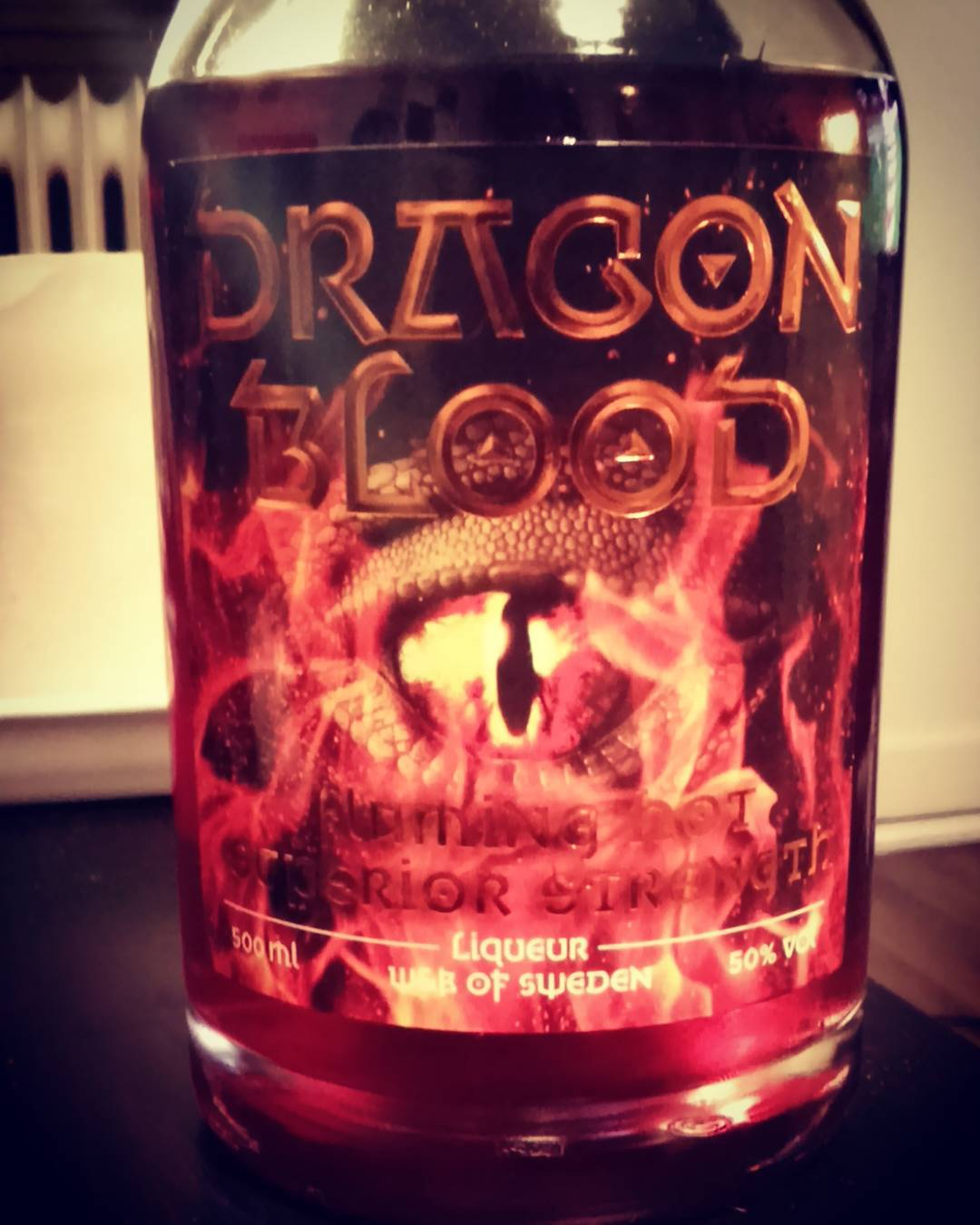 Dragon Blood fan pic