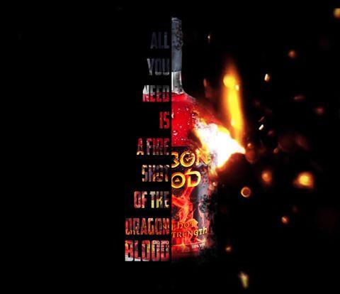 Dragon Blood Fire shot