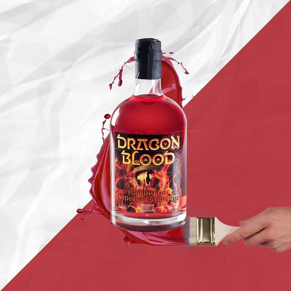 Dragon Blood painter