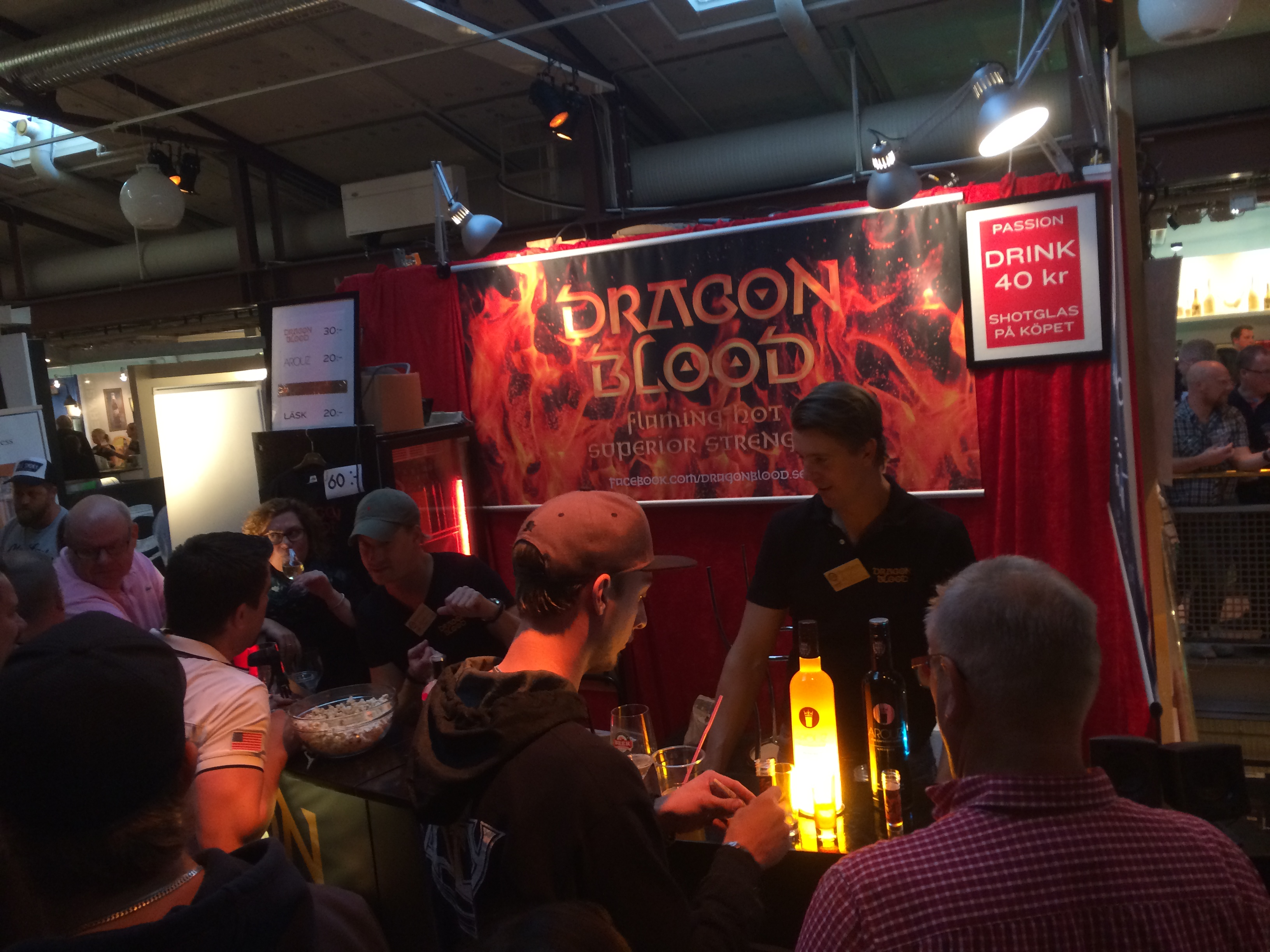 Dragon Blood exhibition success