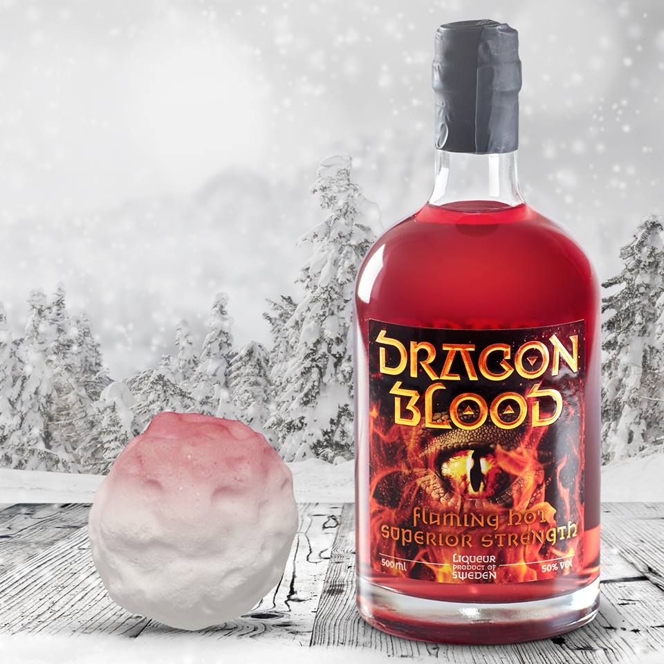 Dragon Blood in the winter