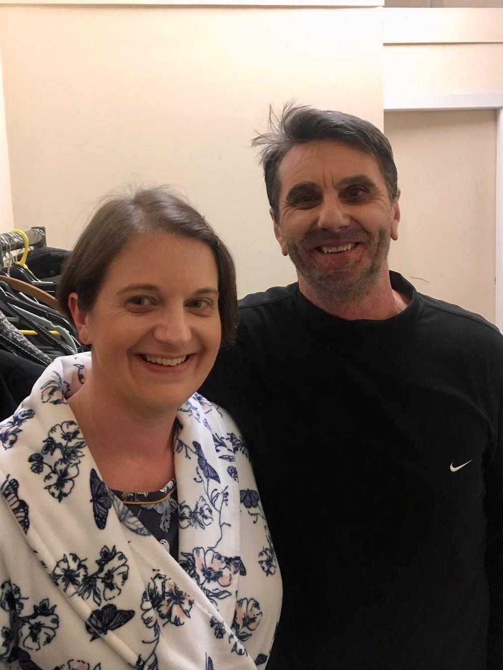Anna Foran (Fiona) & Andy Barr (Bone), 6.3.20