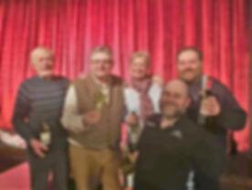 Quiz night March 2019 winners - the Stru