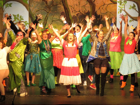 Panto pics & a director's thanks...