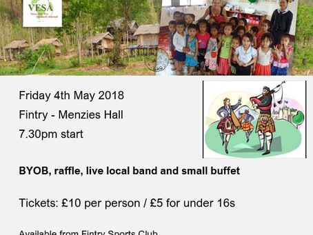 A fundraising ceilidh to set you reeling!