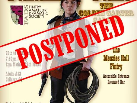 Calamity Jane postponed