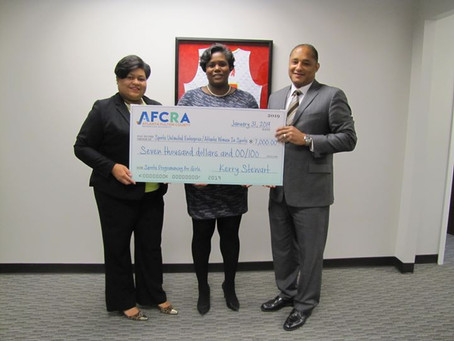 ABOE District 5 Receives $7,000 Donation