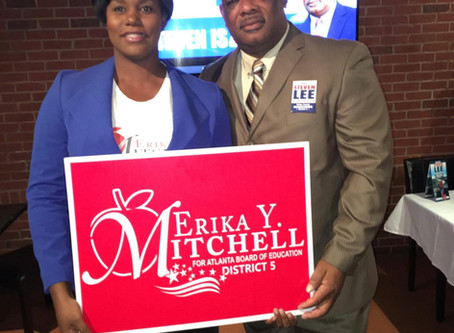 Honorable Steven Lee Atlanta Board Of Education District 5 Member Endorse Erika Y Mitchell