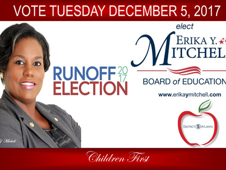 Erika Y. Mitchell Receives High Regards from City Leaders as she Contends for Atlanta Board of Educa