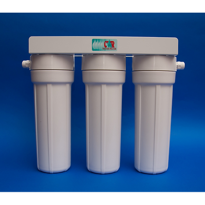 Crown Triple Water Filter - Undercounter