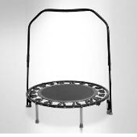 Needak Soft-Bounce Non-Folding Rebounder with Stabilizing Bar - Black (Canada)
