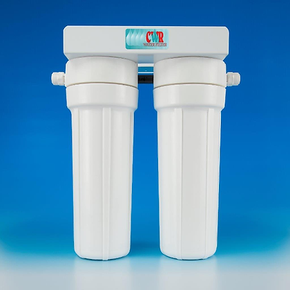 Crown Double Water Filter - Undercounter
