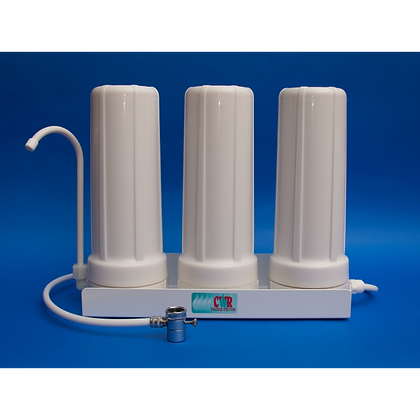 Crown Triple Water Filter - Countertop