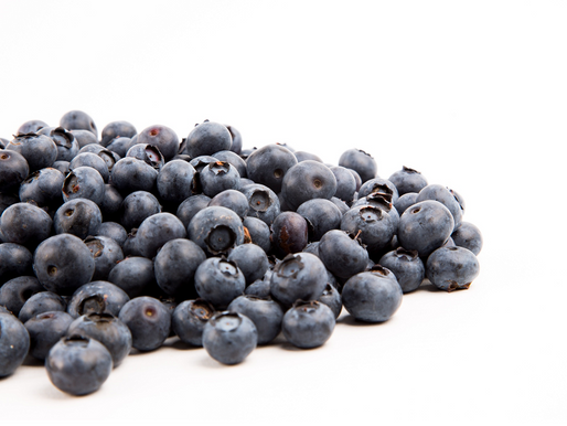 The 'blue' in blueberries can help lower blood pressure