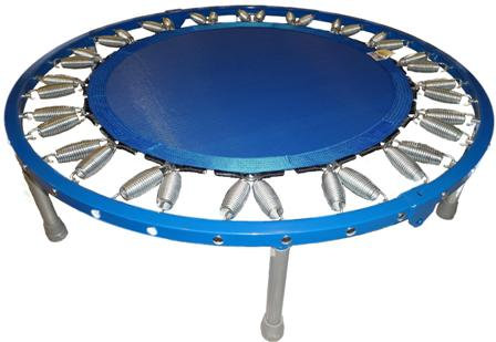 Needak Soft-Bounce Folding Rebounder - Blue