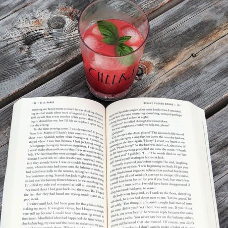 Watermelon Basil Margarita (Behind Closed Doors)